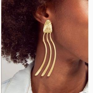 🎉2xHP🎉 Kendra Scott Lori Linear Gold Earrings